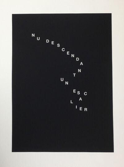 Bethan Huws, 'Nu descendant un escalier', 2013