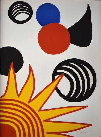 Alexander Calder, 'Composition XII, from The Elementary Memory', 1976
