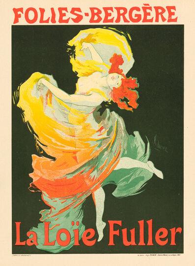Jules Chéret, 'Folies-Bergère, La Loïe Fuller', 1895-1900