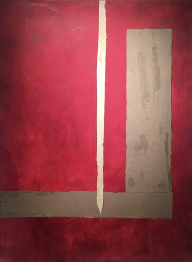 Margie Schaffer Steinmann, 'Red, Kahki, Mint', 2019
