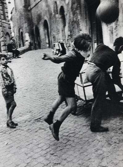 William Klein, 'Street Football, Rome', 1956