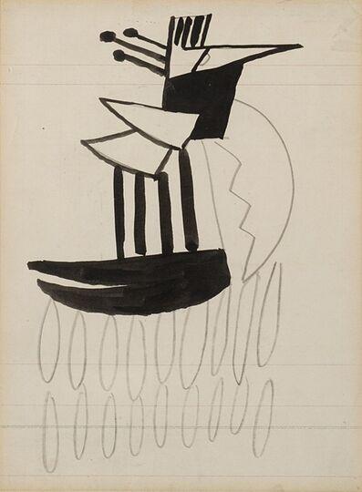 Fernand Léger, 'Oiseau', 1922