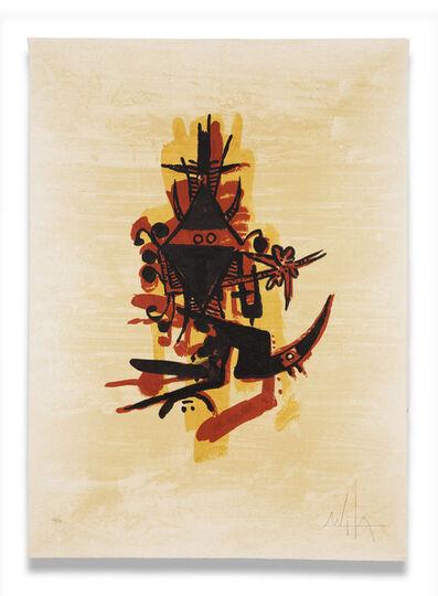 Wifredo Lam, 'El Ultimo Viaje del Buque Fantasma - image 3', 1976