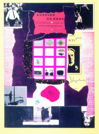 R. B. Kitaj, 'Acheson Go Home', 1964