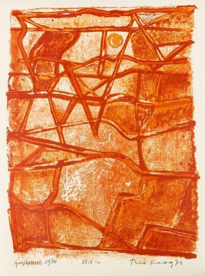 Théo Kerg, 'Graphisme', 1973