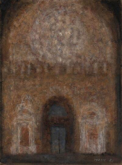 Zoran Antonio Mušič, 'Interno di Cattedrale', 1985