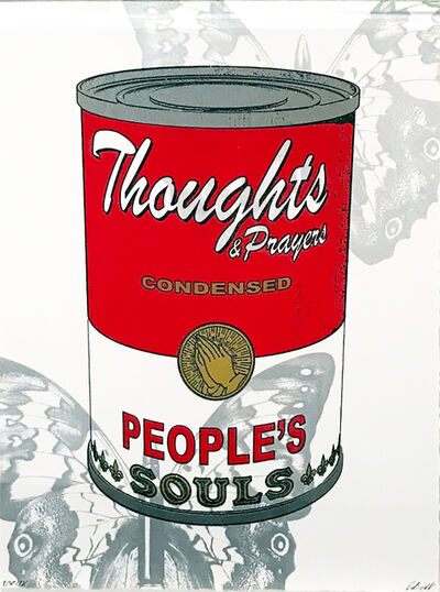 Rubem Robierb, 'Thoughts & Prayers (Soup Can)', 2018