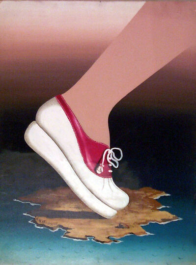 A.M. Cassandre, 'HARPER'S BAZAAR MAQUETTE FOR THE COVER OF JANUARY 1939 (TENNIS SHOE)', 1939