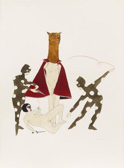 Marcel Dzama, 'The back bone of contagious disease', 2011
