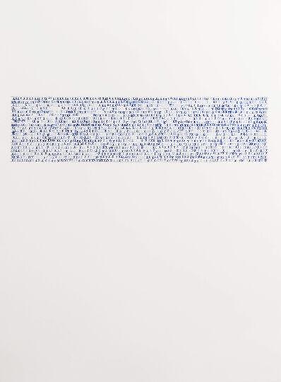 Sarah Irvin, 'X Stamp, No. 9', 2019