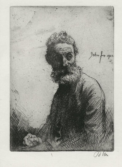 Augustus John, 'Old Man of Liverpool', 1902