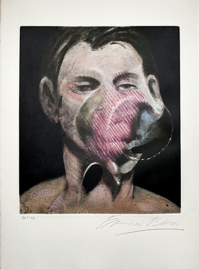 Francis Bacon, 'Portrait of Peter Beard ', 1976