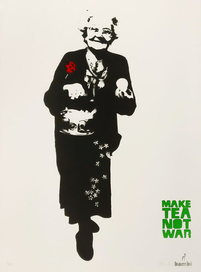 Bambi, 'Make Tea Not War', 2013