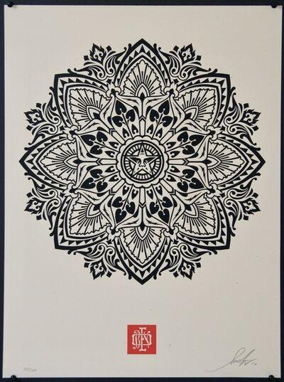 Shepard Fairey, 'Mandala 2 - Cream', 2010