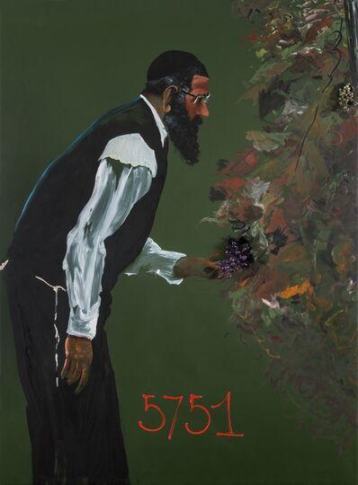 Aldo Mondino, 'Vendemmia 5751', 1991