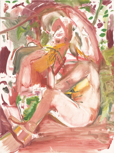 Cecily Brown, 'Girl Eating Birds', 2018