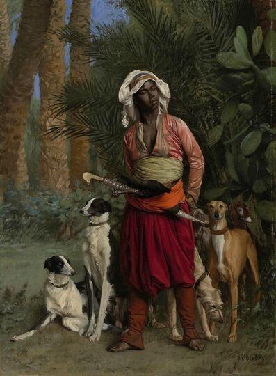Jean-Léon Gérôme, 'Master of the Hounds', 1871