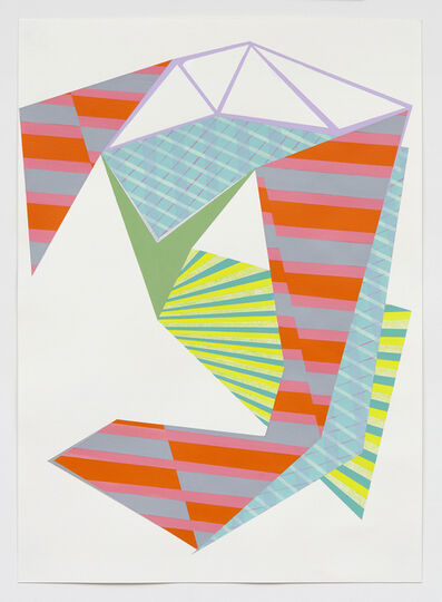 Laura Mosquera, 'Cut Wrap Stripe', 2015