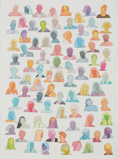 Dan Gluibizzi, 'Captive, social, mobile', 2016
