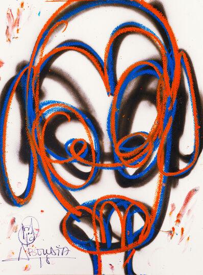Aboudia, 'Nouchi Graffiti Enfant', 2020-2021