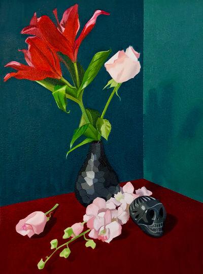 Terran McNeely, 'Flower Skull', 2018