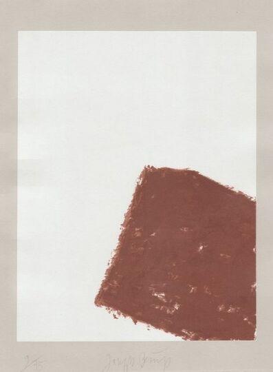 Joseph Beuys, 'Schwurhand: Wandernde Kiste Nr. 3', 1970-1980
