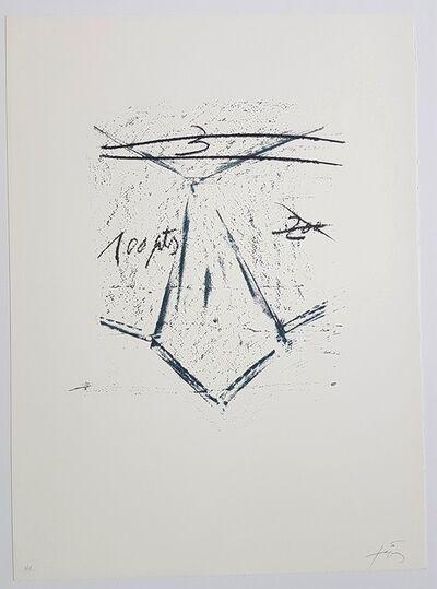 Antoni Tapies, 'Llambrec-12', 1975