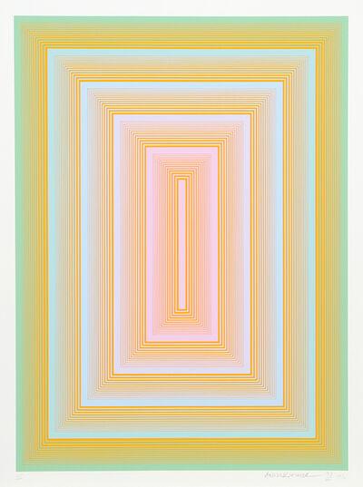 Richard Anuszkiewicz, 'Sequential III', 1972