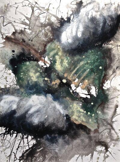 Baruj Salinas, 'Hoja al viento XIV', 2002