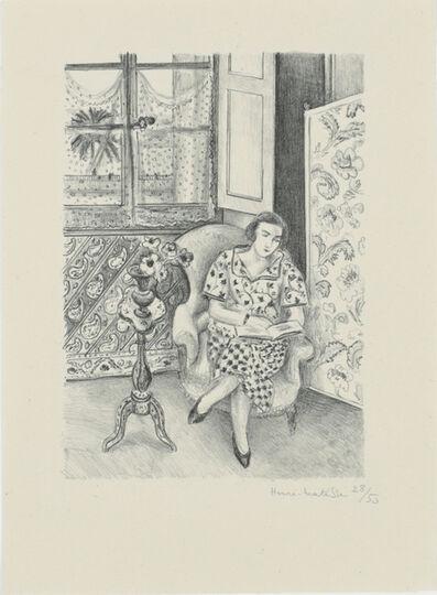 Henri Matisse, 'Intérieur, la lecture', 1925
