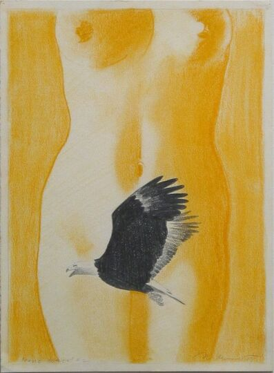 Mel Ramos, 'Study for Small Eagle Beaver #2', 1969