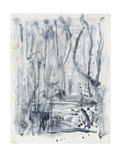 Shinro Ohtake, 'Indigo Forest 16', 2015