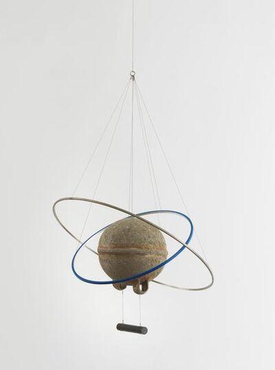 Olafur Eliasson, 'Shore compass (03:00, blue silver)', 2018