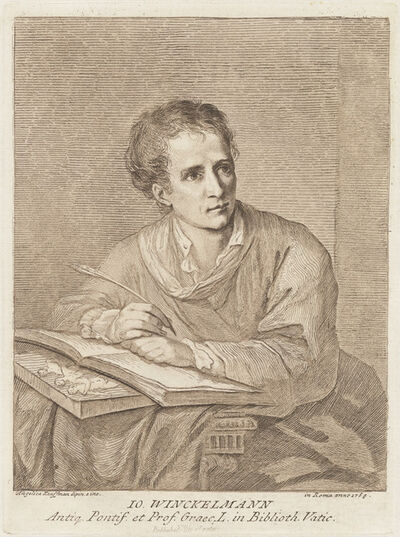 Angelica Kauffmann, 'Johann Winckelmann', 1780