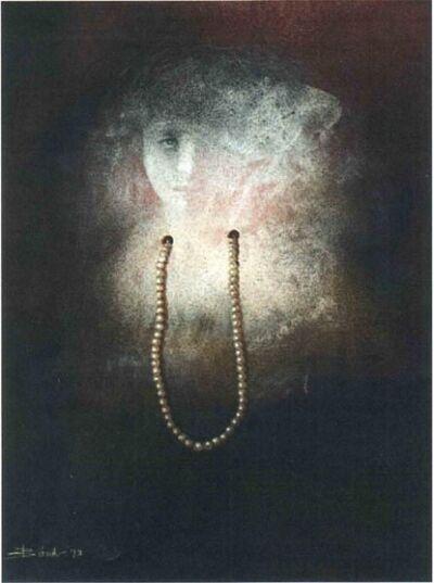 Bikash Bhattacharyya, 'Woman With Pearl Necklace', 1973