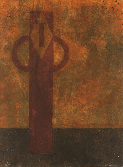 Rufino Tamayo, 'Figura Hierática.', 1979