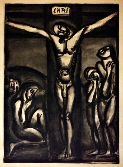 """Georges Rouault, 'Aimez-Vous Les Uns Les Autre - from """"Miserere""""', 1948"""