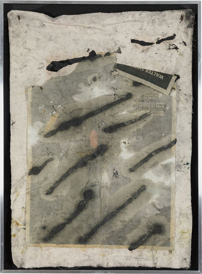 Oscar Murillo, 'Untitled Drawing Off the Wall', 2011