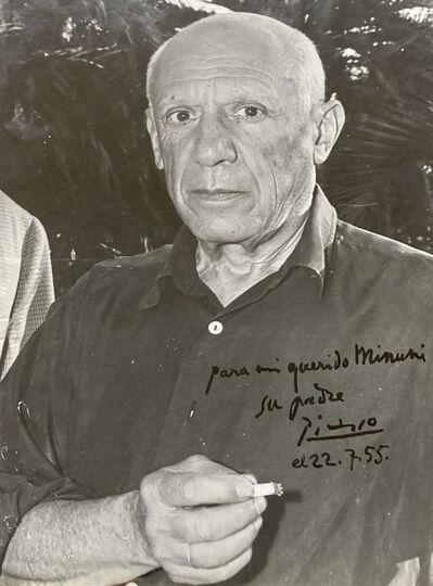 Pablo Picasso, 'Portrait Picasso by André Villers', 1955