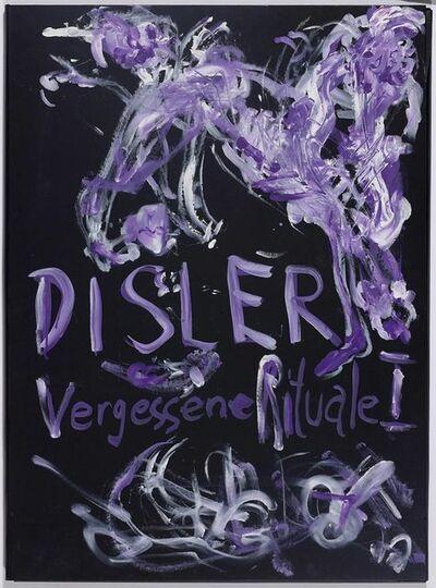 Martin Disler, 'Vergessene Rituale I', 1988