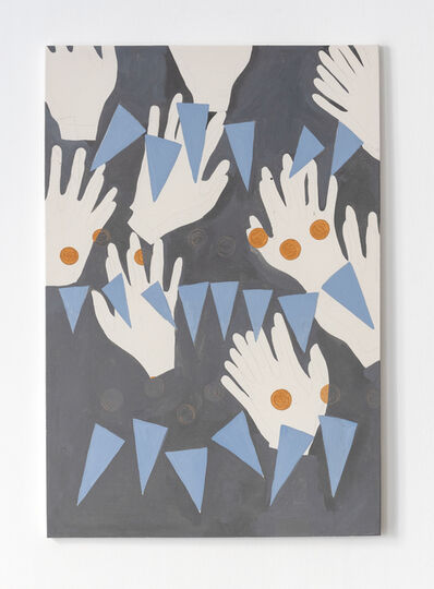 Camila Oliveira Fairclough, 'Waving', 2018