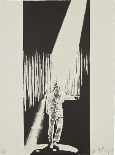 Robert Longo, 'The Entertainer, from the Artists Portfolio', 1986