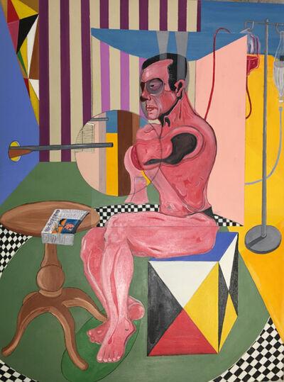 Samuel Iztueta, 'Man and Cube', 2017