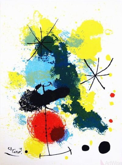 Joan Miró, 'Composition', 1964