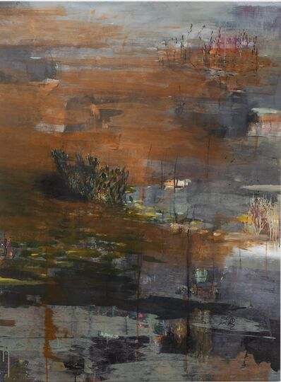 Mutaz Elemam, 'Dream scape from river Untitled', 2017