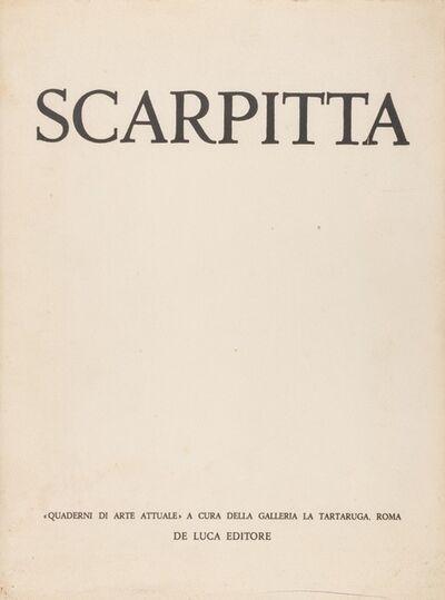 Salvatore Scarpitta, 'Scarpitta-Quaderni di arte attuale', 1958