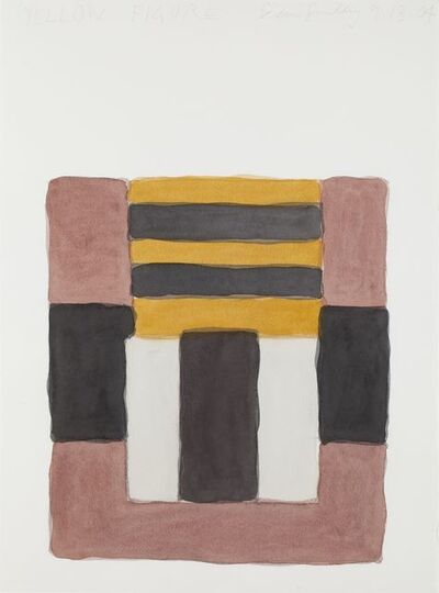 Sean Scully, 'Yellow Figure', 2004