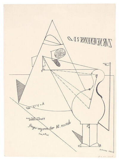 Max Ernst, 'Fiat modes pereat ars. Plate IV', 1919