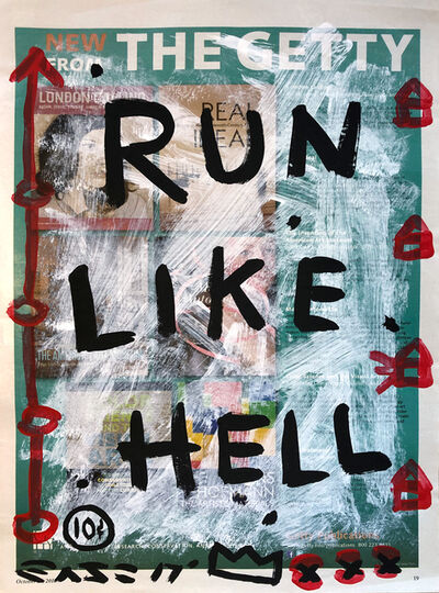 Gary John, 'Run To London', 2017