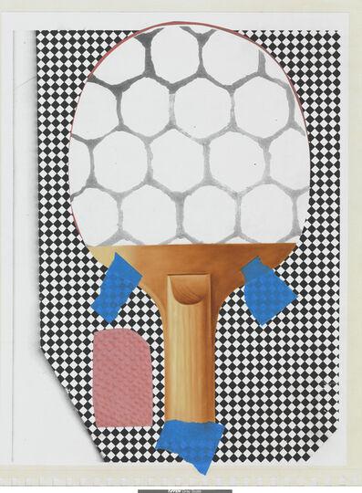 Meg Cranston, 'Ping Pong Paddle', 2014